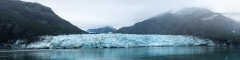 glaciar bay alaska panoramic